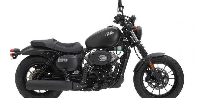 Stylish bobber from Hyosung intends to conquer Europe