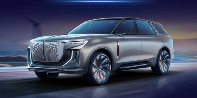 """""""Range-Royce X7"""" premium Chinese crossover without camouflage"""
