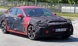 Updated KIA Stinger was not able to surprise photospin