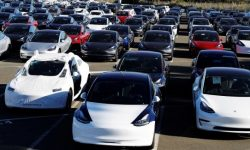 Tesla launches in defiance of the ban