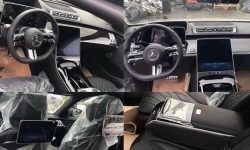 Looks like W223: new S-Class caught without camouflage