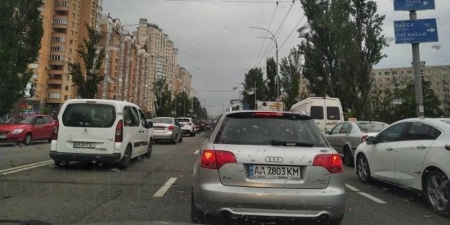The effect of relief: Kiev paralyzed the evening traffic
