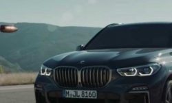 Race: BMW X5 vs. bullets. Who will win? (video)