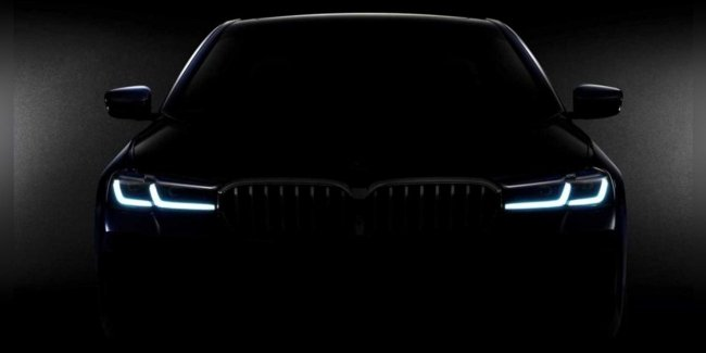 "The first teaser of the new ""Five"" BMW"
