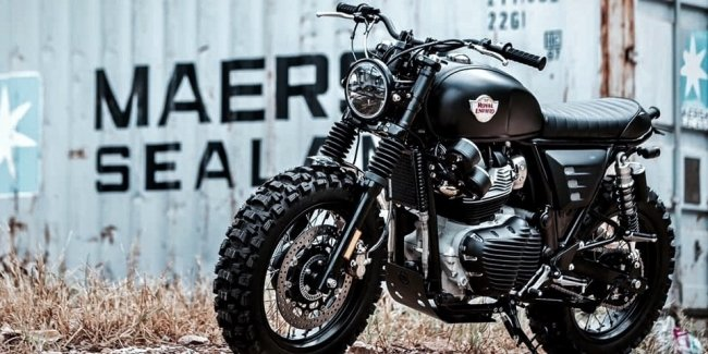 Royal Enfield prepares a fashionable new – 650 CC scrambler
