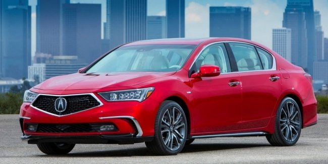 Say goodbye to the Acura sedan RLX