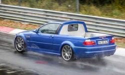 For track for the farm: pickup on the BMW M3