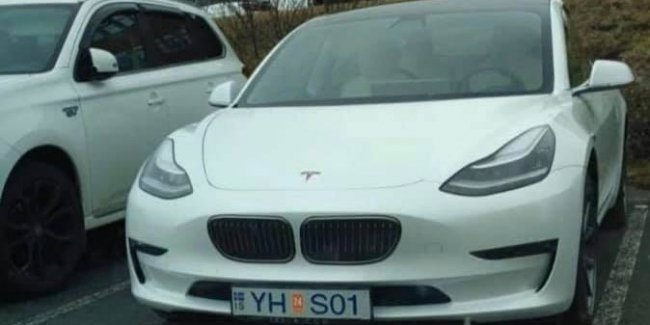 Tesla 3-Series spotted in Iceland