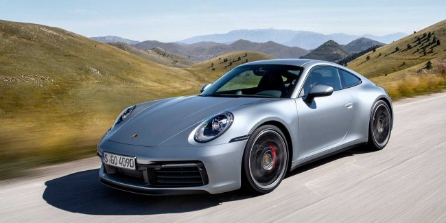 Porsche 911 Carrera: now, only Turbo