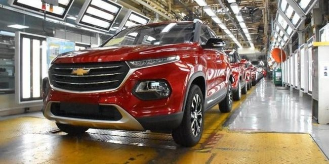 Chevrolet Groove – another clone Baojun