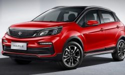 Cross-hatchback Maple 30x: electric crossover$ 10,000 from Geely