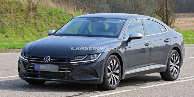 What surprised updated Arteon without camouflage?