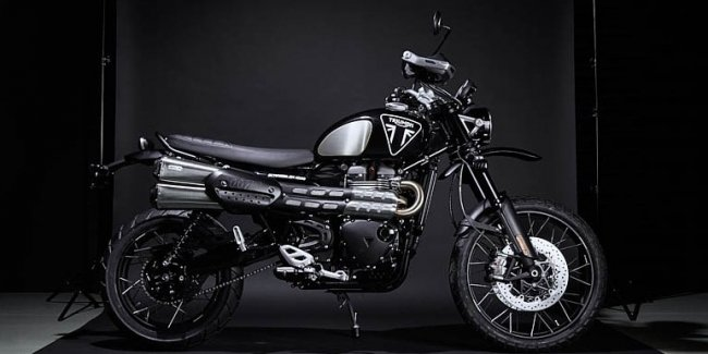Bond. Edition Bond. Special Model Triumph Scrambler 1200