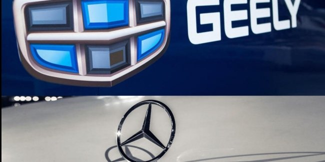 Little Geely Volvo. It is time for Mercedes