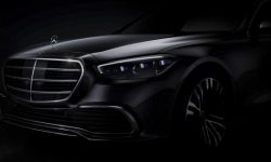 W223 on the official photos Mercedes