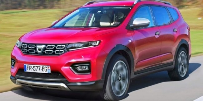 Dacia Lodgy will turn into a seven-seat crossover