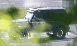 """""""Square in a square"""": a new G-Class off-road version"""