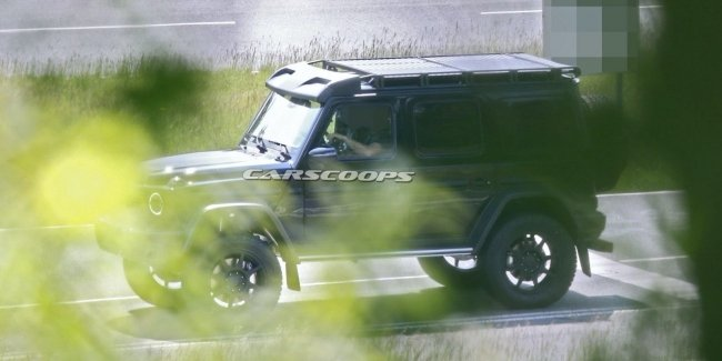 """Square in a square"": a new G-Class off-road version"
