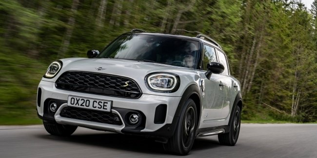 Latest ready: updated Countryman from MINI