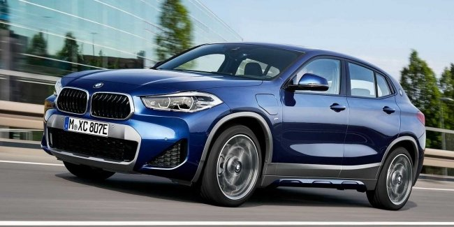 The Bavarians have presented the hybrid BMW X2