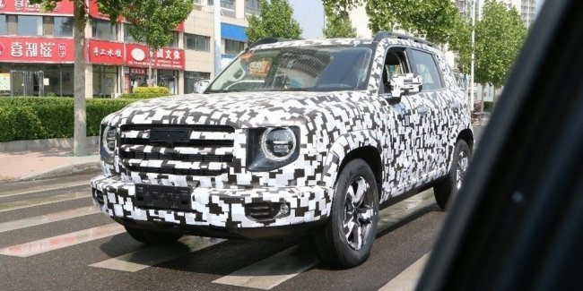 "Chinese ""Jamnik,"" is ""Gaelic"": details about the new Haval"