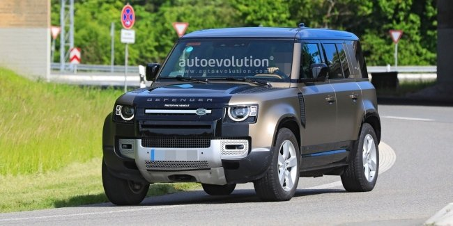 Land Rover has started testing Defender with the right engine