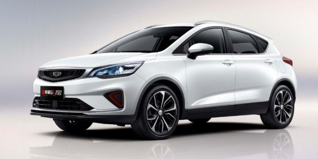 Geely GS class… Updated crossover officially presented
