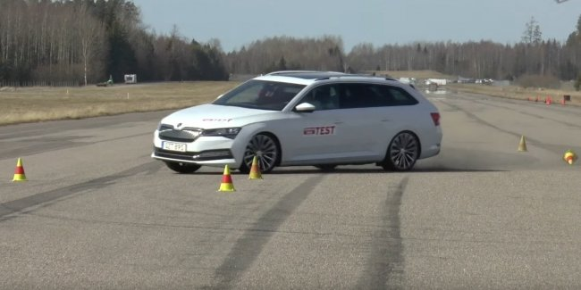 Unmanaged sheds: hybrid Passat GTE and the Superb iV failed the test of agility