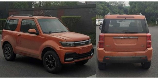 Something from the Jimny, but something from the toaster: new electro vnedorozhnik from China