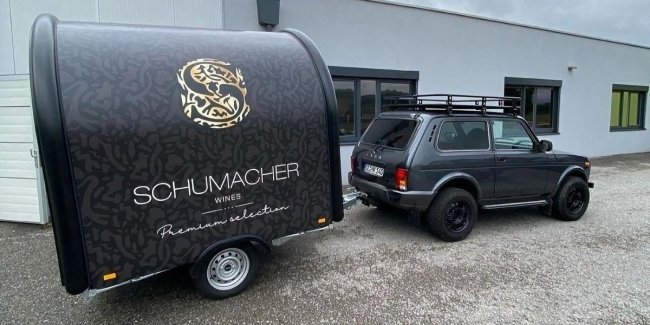 "Schumacher bought a new ""Niva"". This is no joke!"