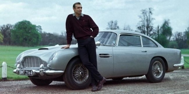 Auto for the spy: Aston Martin revived the issue of the DB5