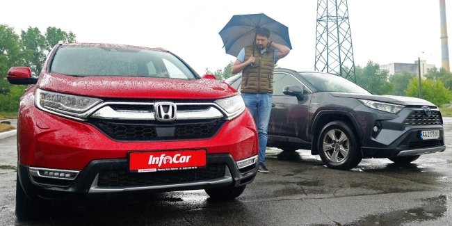 Hybrid Honda CR-V Better than the RAV4?