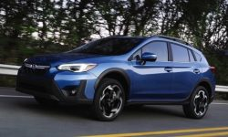 In the U.S., has unveiled the Subaru XV for bullies