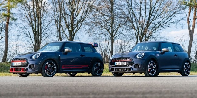 MINI JCW GP package Pack: style is everything!