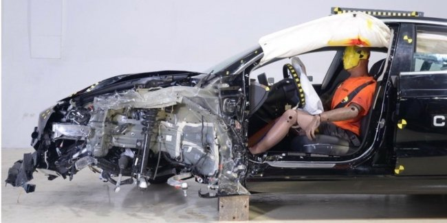 The incident with the Model 3: during testing of NCAP China, something went wrong