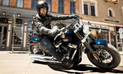 Harley-Davidson for seniors, girls and beginners