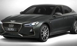 Updated Genesis G70 showed your salon