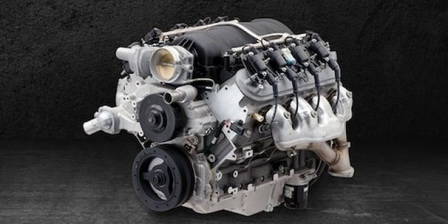 """Surprise in box"": new engine Chevy"