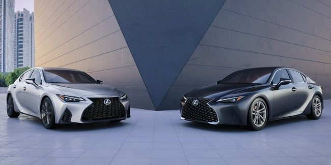 Official: the fourth generation of the Lexus IS