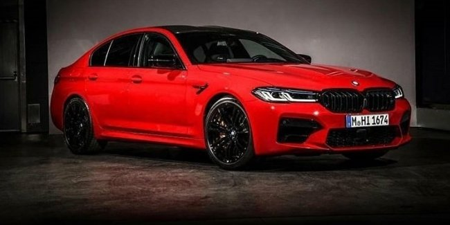 Updated BMW M5 revealed before the premiere (photos)