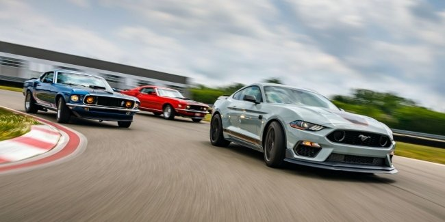 """Ford brought back """"the Mustang"""" cult version of the Mach 1"""