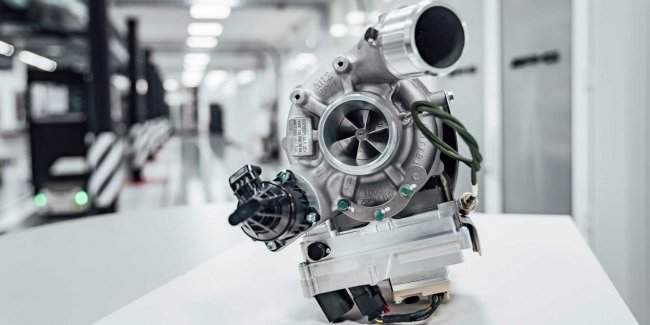 Re-invented … the turbocharger: a new development by Mercedes-AMG