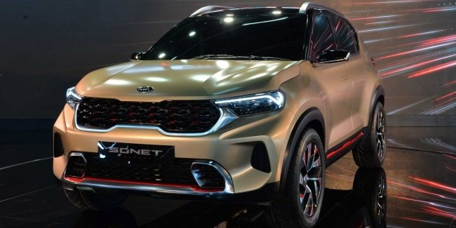 KIA Sonet: a compact crossover for $10.000