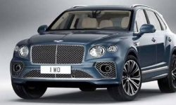 Restyled Bentayga: the first photos of the crossover