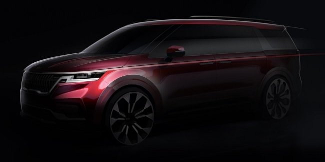 New KIA Carnival disguised as a crossover