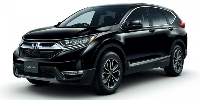 """Black samurai"": top range of the upgraded CR-V"