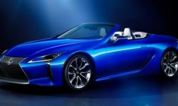 The Lexus blows the doors: the sales LC500 Cabrio