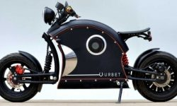 The bike is Urbet Ego: from scooter to motorcycle