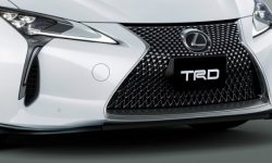 Lexus LC 500 performed by the TRD