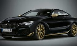 """Gold, eighth of the nine"": spezieria BMW 8-Series"